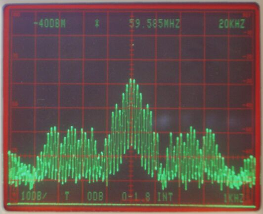 SM 5 BSZ - Dynamic range observations for the SDR-14, a VHF